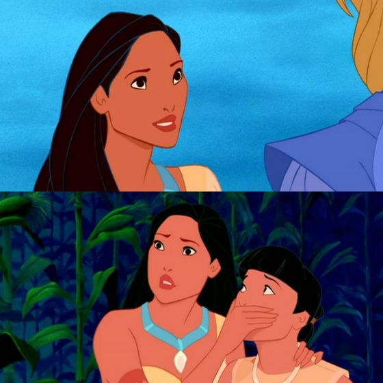 Well Poca, you're not in my 最佳, 返回页首 5 anymore but hey, at least 你 can still paint with all the 颜色 of the wind, how many other princesses can do that?