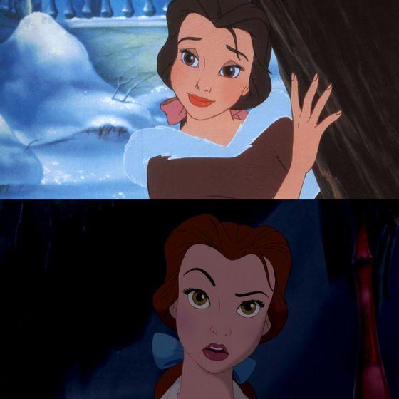 Well, i thought I'd never have 你 so high on my 列表 but you've really grown on me and yeah, I 说 I don't like your bangs, what are 你 going to do about it, Belle? Go read a book.