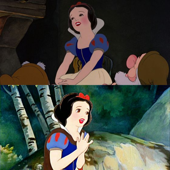 With a smile and a song, I happily welcome Snow White into my 最佳, 返回页首 5, I 爱情 你 girl, never change.