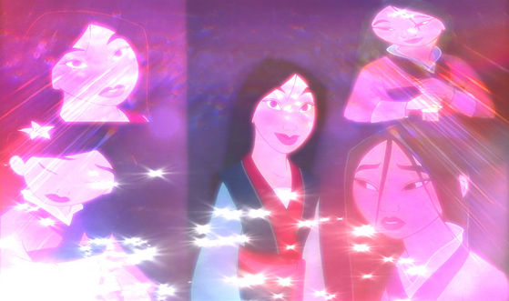 The others are simply prettier, while stunning Mulan does not compare to the other 3- zikkiforever