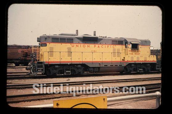 Union Pacific Engine #121