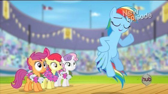 Rainbow Dash and the CMC