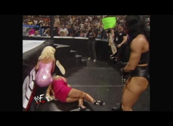 Debra lies injured after Chyna's attack!