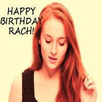 Happy Birthday Rach:D