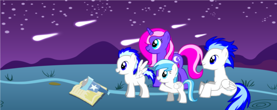 The Family (left-right: Orion,Moonshine,Snow Flake,Winter)