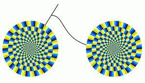 Stare at one and the other will mover