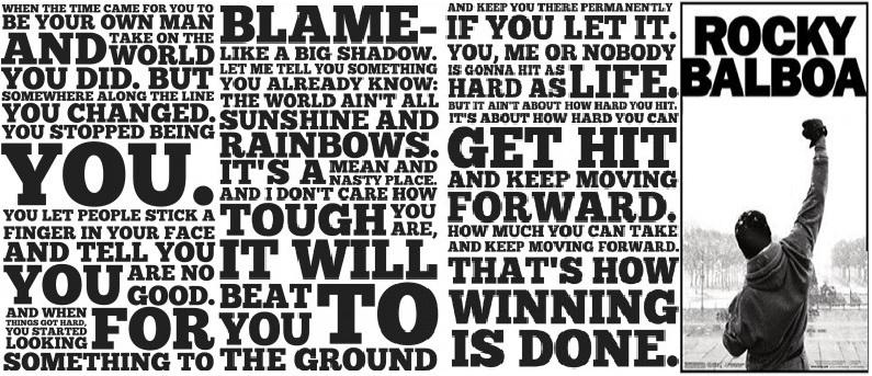 Rocky Balboa Inspirational Speech To His Son Rocky