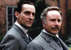 Holmes and Watson.
