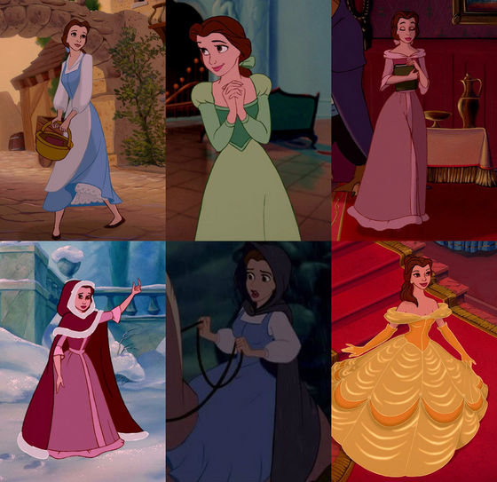My Best Disney Princess Wardrobes :) - Disney Princess ... Beauty And The Beast Belle Pink Dress