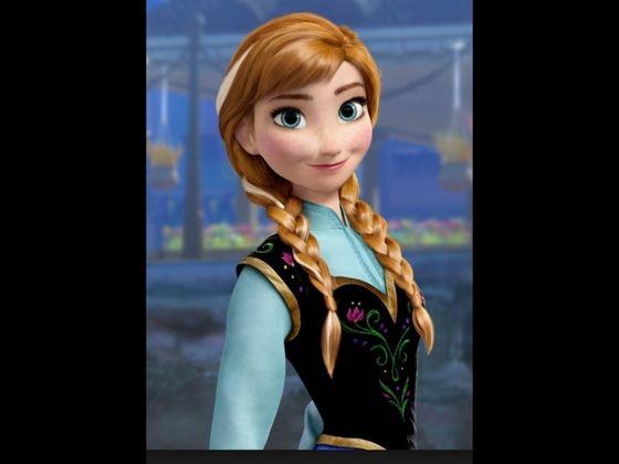 Anna From Frozen - Uma Aventura Congelante