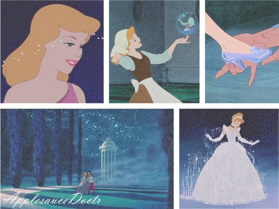 Is it strange that Cinderella's high on the list, while Aurora and Snow White weren't?