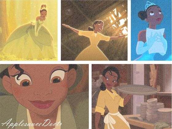 Tiana will always have a special place in my heart. :D