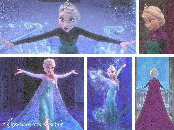 Lo and behold, my paborito princess (er, queen) - Elsa.