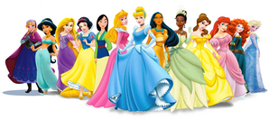 The Official Lineup (as of Jul. 2014) + Anna & Elsa