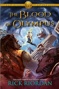 Official Book Cover for Blood of Olympus