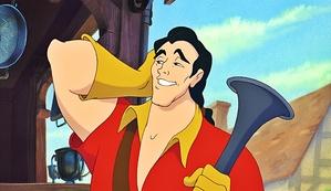 The handsome Gaston