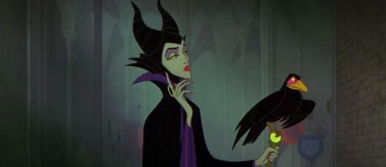 The Mistress of all Evil, mwahaha!