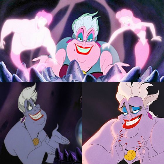 bạn can't not like Ursula, she's everything._dimitri_ -- Way too scary_Beastlysoul25