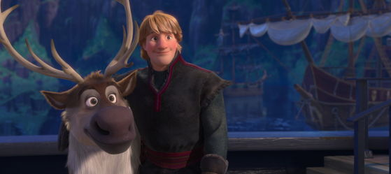 """Reindeers are better than people. Sven, don't 당신 think that's true?"""