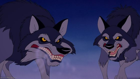 Still voting for this one. They don't really do anything evil, they are just wolves. And I know that goes for most of the other động vật as well, but they are very boring and not entertaining to watch_fanlovver