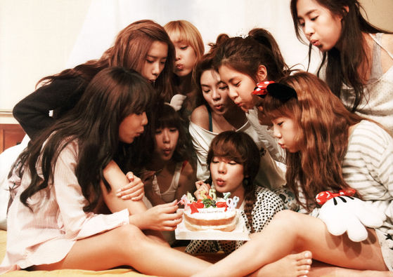 Right Now 소녀시대 , in the Future 소녀시대 , Forever 소녀시대
