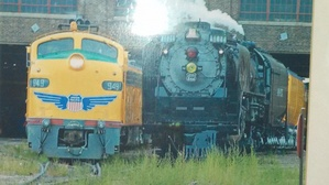 Engines 949 and 844