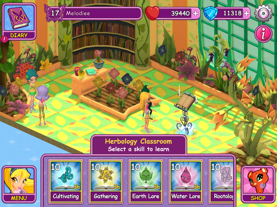 Wizgiz's Herbology lessons, I've completed all of the levels.