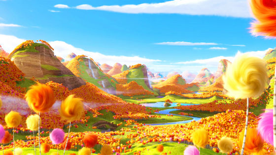 The Lorax's Truffula forest