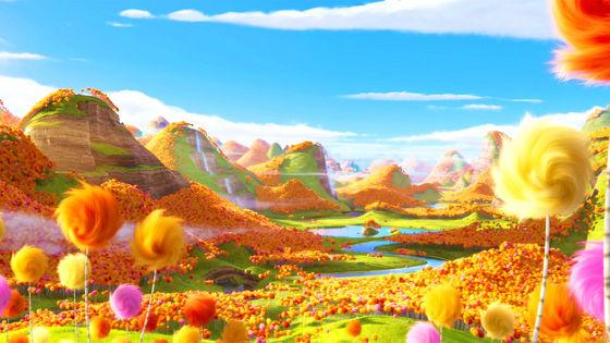 The Lorax's Truffula forest