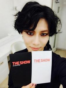 [Fanaccount] 140902 Taemin Recording for The Show - Lee ...