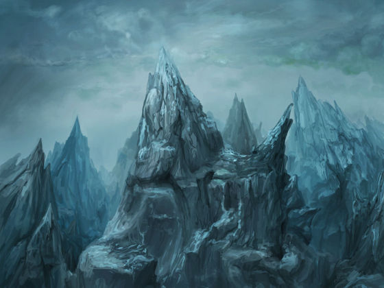 Kia Mountains: tahanan of the Dark Elfs