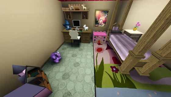 Bailey's redecorated room