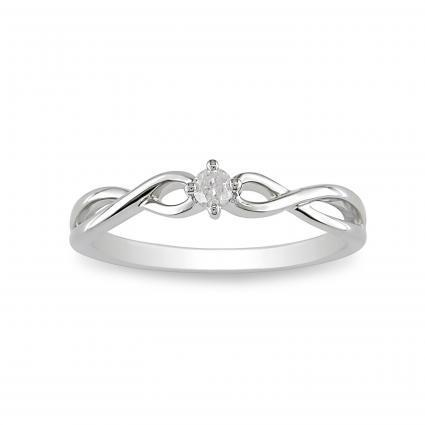 Flora's engagement ring.