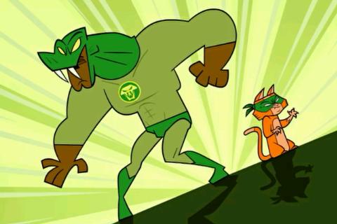 """21. """"Super Hero-ld"""""""