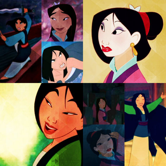 Best shot of Mulan- topo, início right, matchmaker dress.