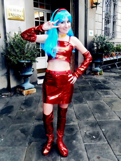 My Cosplay of Bra from Dragon Ball, my favorite Animated Female Character.