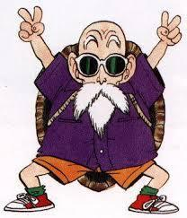 "Fun fact: Roshi means ""Master"", so Master Roshi is ""Master Master"""
