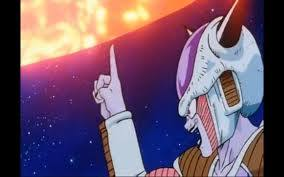 Frieza's attack on Planet Vegeta
