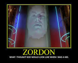 Zordon, the headmaster of the rangers