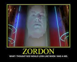Zordon, the headmaster of the rangers