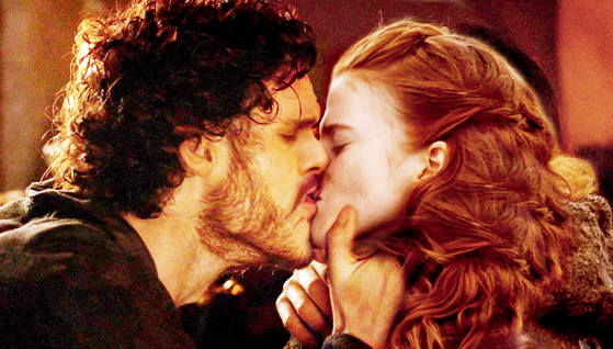 They shared what was probably the most passionate kiss they ever had