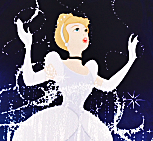 Cinderella, one of the first डिज़्नी फिल्में Mary ever saw.