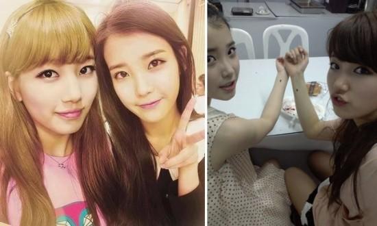 15 Lovable K-Pop Idol Best Friends - IU - Fanpop