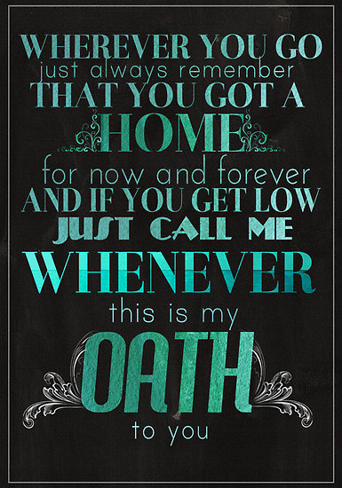 """""""This is my oath to you"""" ♥"""