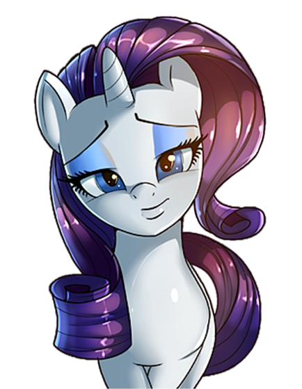 Rarity is out doing the same thing when she sees the same gem Crystal found and tries to grab it, claiming she found it first.