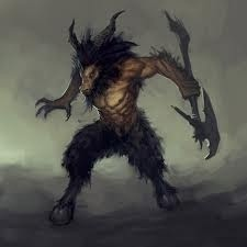5. Goatman- Like the Owlman, this creature waits until after the sun goes down to do as it pleases, terrifying those who クロス its path.