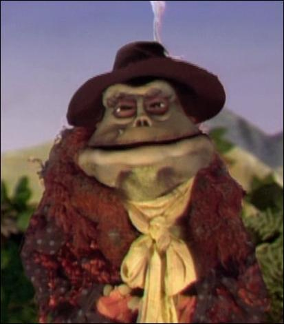 Another Muppet from way back in his appearances in both Muppet Christmas Carol and Muppet Treasure Island that appears is Wander McMooch. He appears as a gulag inmate, appearing on the uithangbord of the gulag when it is first shown