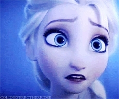 This time Elsa could not prevent the fear that took her over.