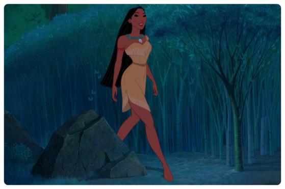 Pocahontas' Dress