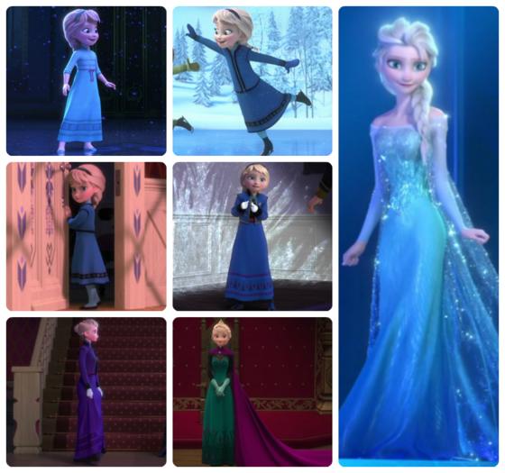 Elsa's Wardrobe